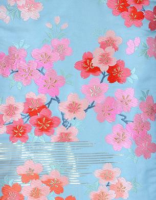 이로우치카케-하늘색매화 고쇼구루마