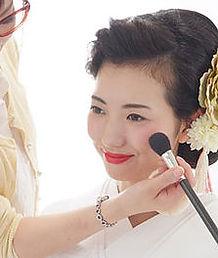 일본전통결혼, 기모노메이크업