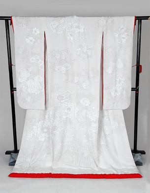 시로무쿠-모란꽃과 백합꽃