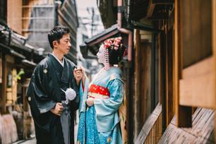 【블로거 소개】전 마이코 담당자가 메이크업과 기모노 착용을 해줬어요!