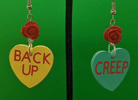 Back Up Creep Earrings