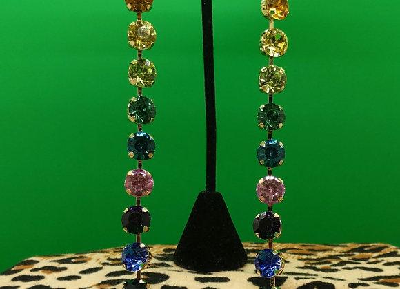 Disco Rainbow Earrings