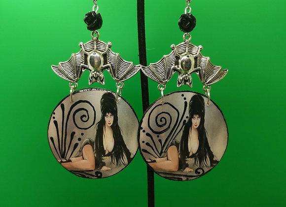 Queen Elvira Earrings