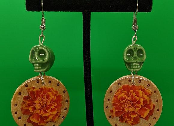 Small Marigold Earrings