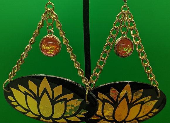 Lotus Drip Earrings
