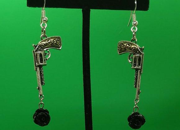Mini pistol Earrings