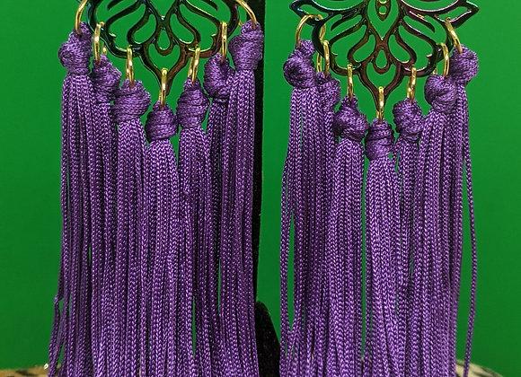 Empress Fringe Earrings