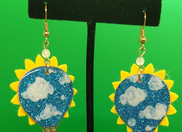 Balloons and Sunshine Earrings