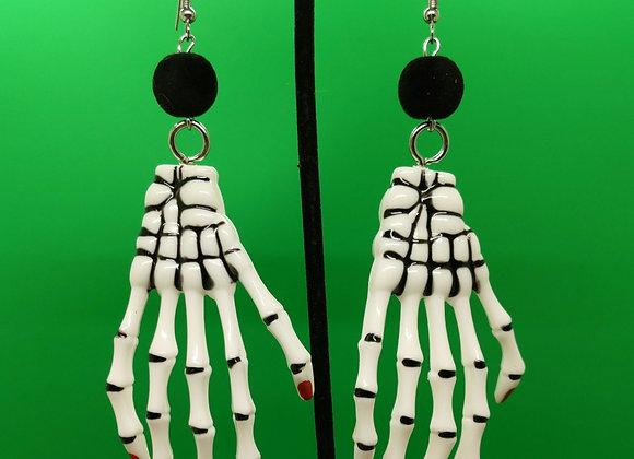 Creeper Hand Earrings