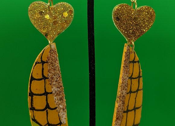 Elote Earrings