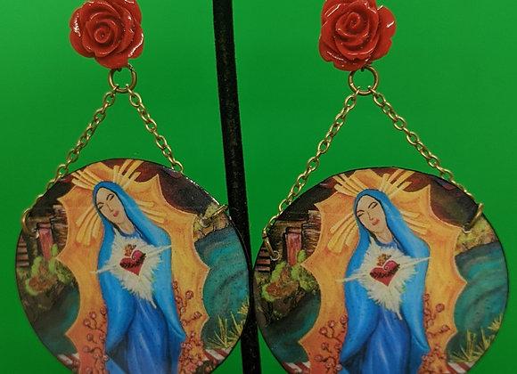 Virgen de Burque Earrings