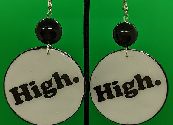 High. Earrings