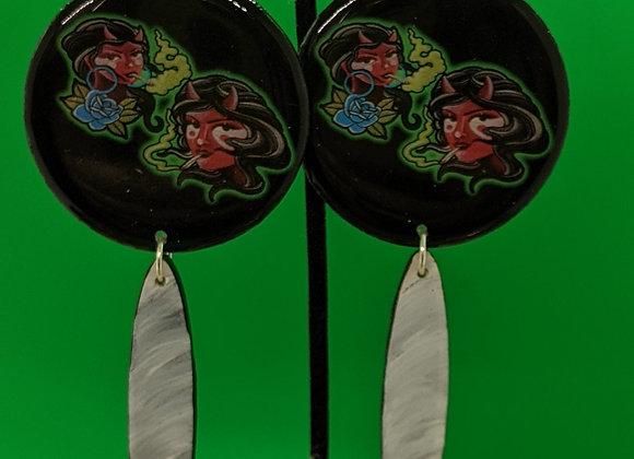 Diabla Stoner Bettie Earrings