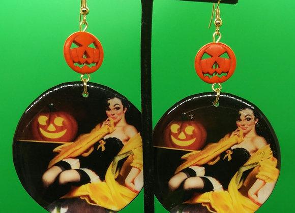 Halloween Hottie Earrings