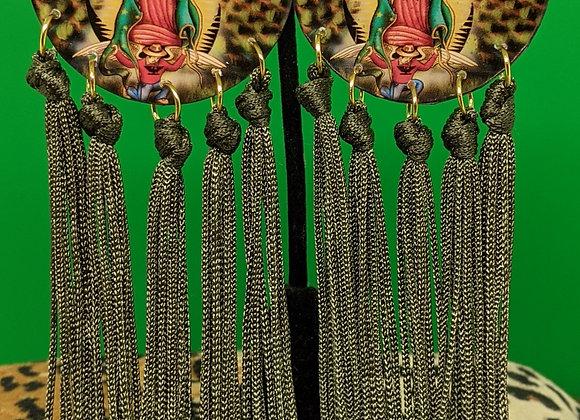 Virgen Fringe Earrings