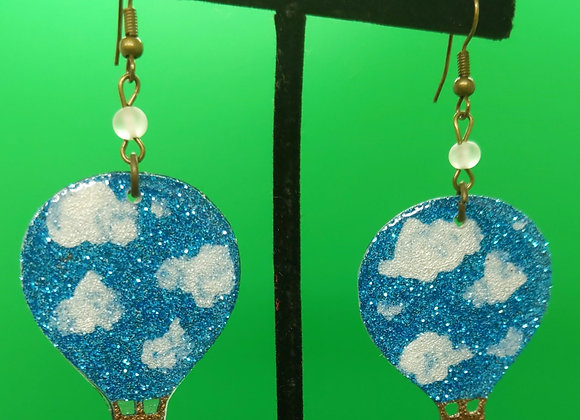 Balloon in the Clouds Earrings