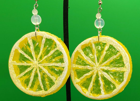 Lemonade Earrings (1 bead)
