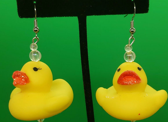 Rubber Duckie Earrings