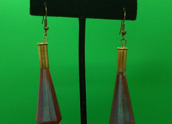 Bullet Shell Chandelier Earrings