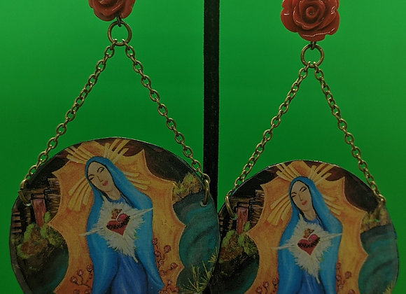 Virgen de Burque Earrings