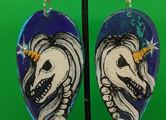 Muerto Unicorn Earrings