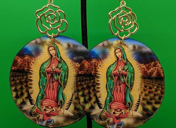 XL Virgen Earrings