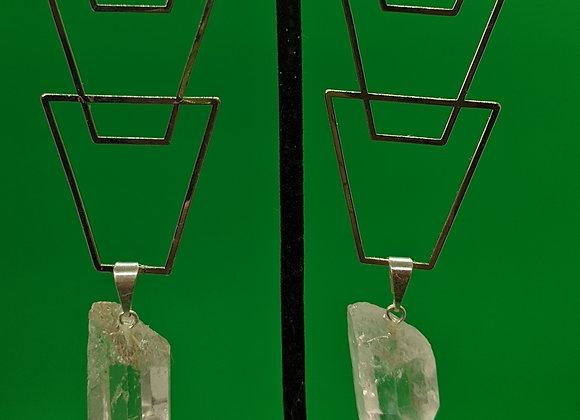Quartz Drip Earrings