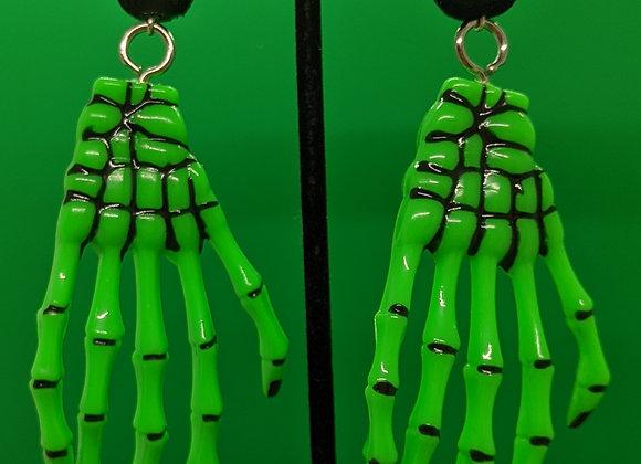 Green Skeleton Hands