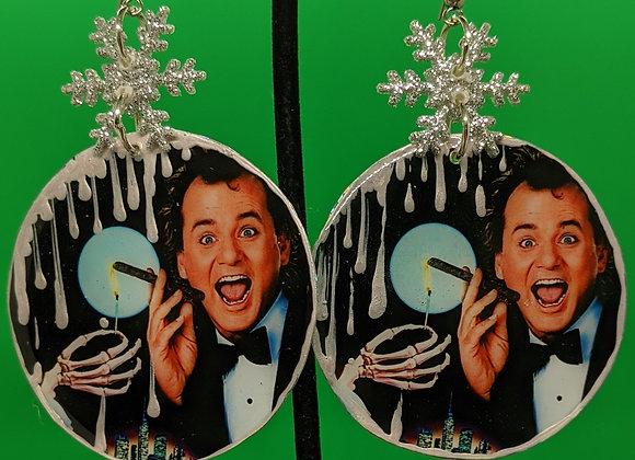 Scrooged Earrings