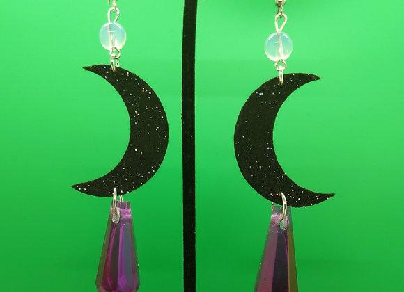 Resin Moon Crystals