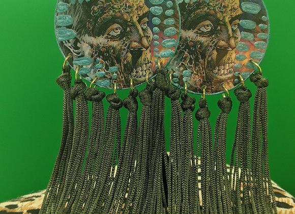 Zombie Fringe Earrings