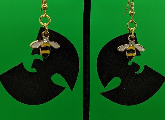 Felt Killa Bees Earrings