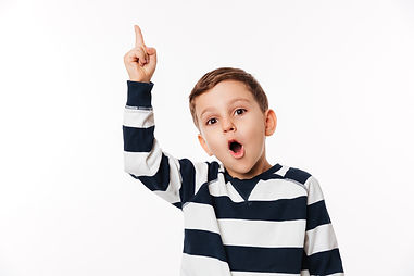 portrait-of-an-excited-smart-little-kid-