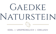 Gaedke Naturstein Logo