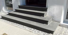 Nero Assoluto Treppenanlage