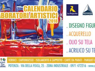Calendario Laboratori Artistici 2018
