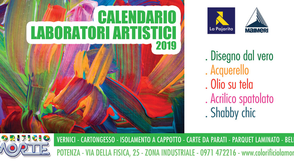 Labaratori Artistici 2019