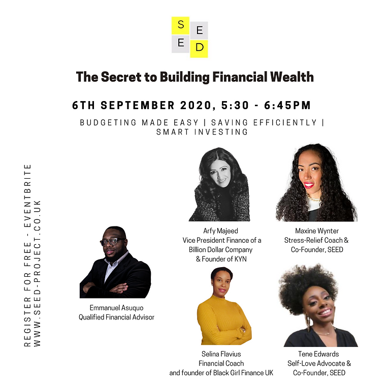 The Secret to Building Financial Wealth