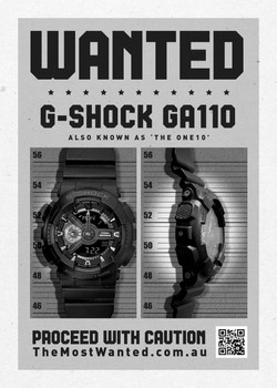 G-Shock Most Wanted