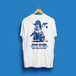 Fine Signs T-shirt Design