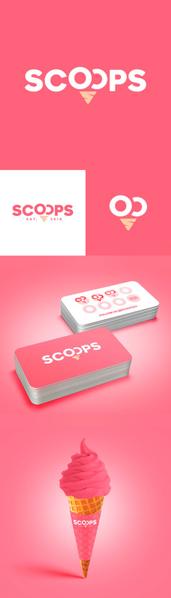 Scoops Brand Identity