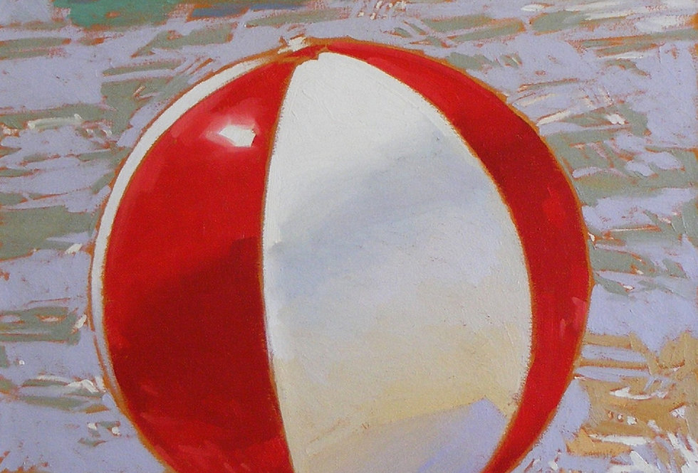 Beachball Serigraph
