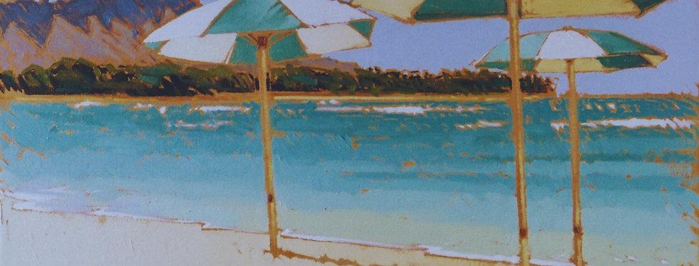 Waikiki Umbrellas