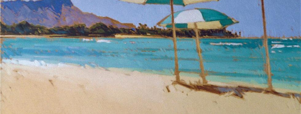 Waikiki Umbrellas II