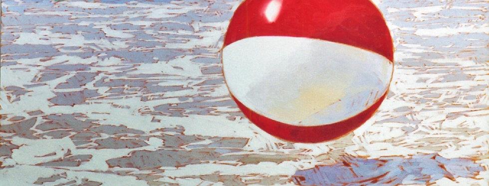 Beachball at Poipu Beach