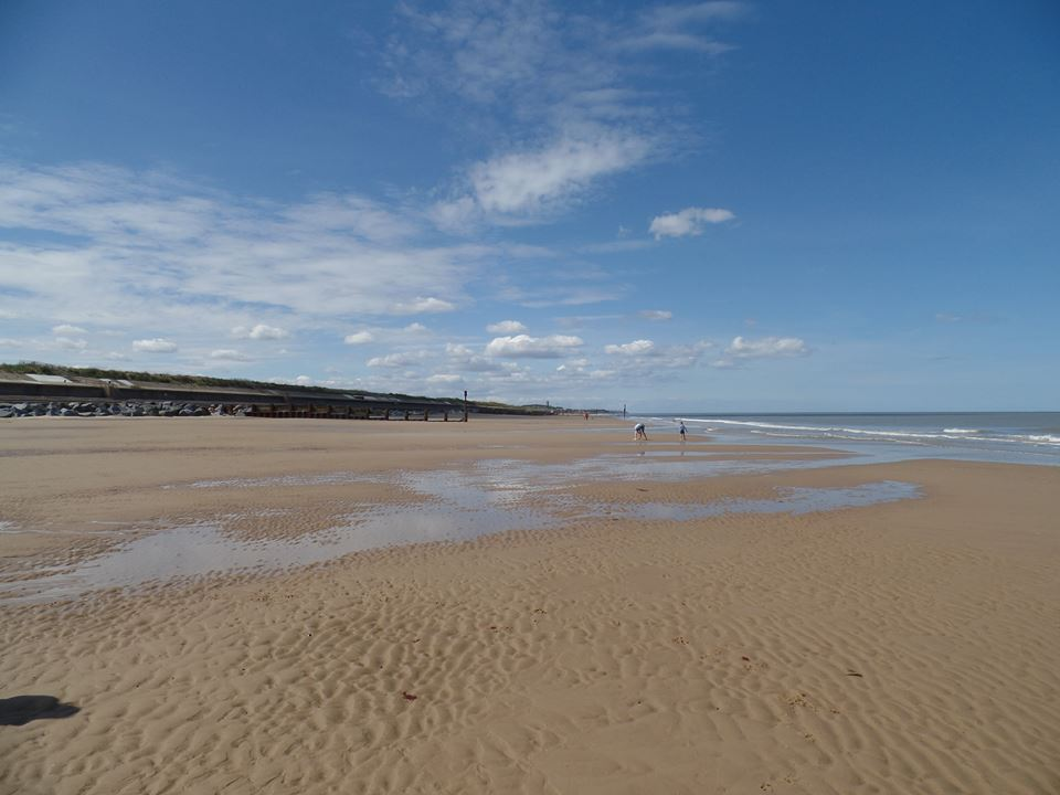 Eccles and Happisburgh Beach