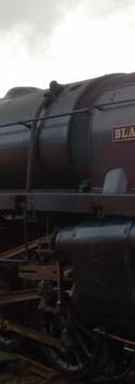 Black Prince on the North Norfolk Railway