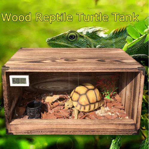 Acrylic Wood Reptile Tank