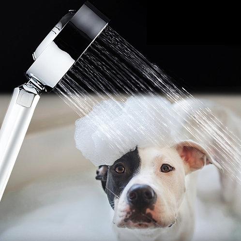 Double-Sided Handheld Pet Showerhead