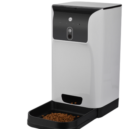 Automatic Cat/Dog Food Dispenser 6L with Camera Voice Recorder Wifi connection